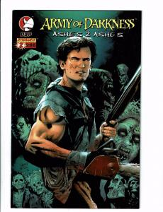 Army Of Darkness # 2 NM Ashes 2 Ashes DDP Dynamite Comic Book Variant Cover J113