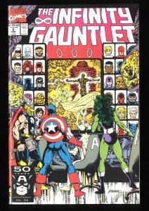 Infinity Gauntlet #2 NM- 9.2