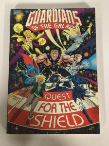 Guardians Of The Galaxy Quest For The Shield TPB NM Near Mint Marvel Comics