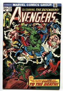 Avengers #118 1973- Captain America Defenders Marvel Comics VF-