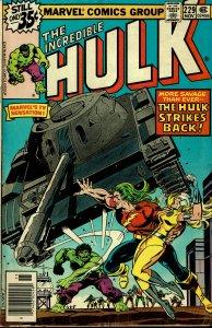 Incredible Hulk #229 - VG/FINE -  Doc Samson