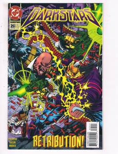 The Darkstars #25 VF DC Comics Comic Book Friedman Oct 1994 DE22
