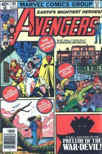 Avengers (1963 series) #197, NM- (Stock photo)