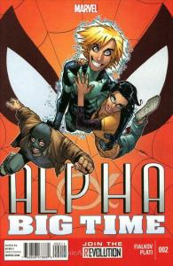 Alpha: Big Time #2 VF/NM; Marvel | save on shipping - details inside