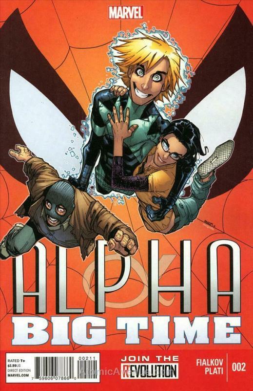 Alpha: Big Time #2 VF/NM; Marvel   save on shipping - details inside