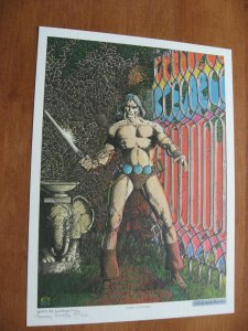 CONAN PORTFOLIO SIGNED BARRY SMITH 1975 GORBLIMEY PRESS FULL COLOR RARE