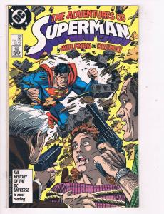 Adventures of Superman (1987) #428 DC Comic Book Perry White Bibbo HH3