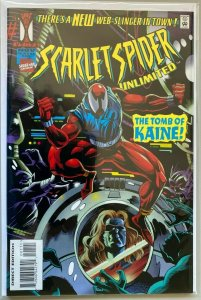 Scarlet Spider unlimited #1 8.5 VF+ (1995)