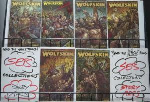 WOLFSKIN HUNDREDTH DREAM (Avatar, 2010) #1-6 COMPLETE! VF-NM! Warren Ellis!