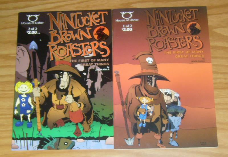 Nantucket Brown Roasters: First of Many Great Things #1-2 VF/NM complete series