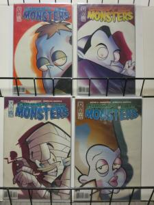 GRUMPY OLD MONSTERS (2003 IDW) 1-4  complete!