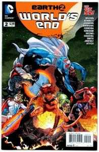 New 52 Earth 2 World's End #2 (DC, 2014) VF/NM