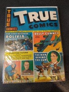 TRUE COMICS #31 GOLDEN AGE CLASSIC VG