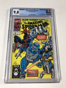 Amazing Spider-Man #341 CGC 9.8