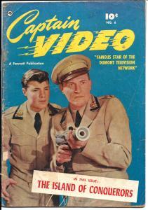 Captain Video #6 - Golden Age - (G+) Dec. 1951