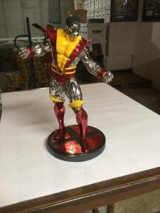 Colossus Statue Variant Super Chrome Edition Bowen 0086/1000 Less Than 10%