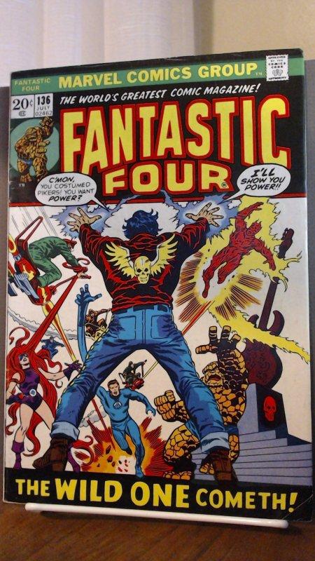 Fantastic Four #136, 5.0 or Better