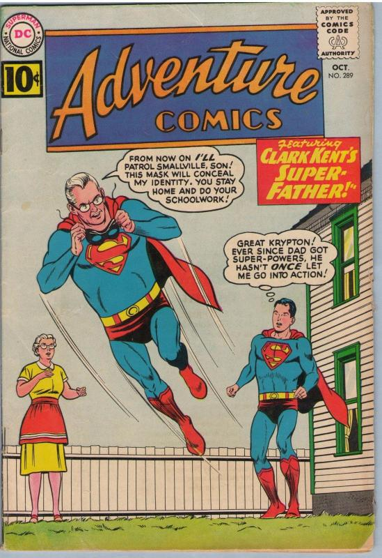 Adventure Comics 289 Oct 1961 VG (4.0)