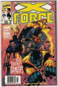 X-Force #82 October 1998 Marvel Comics