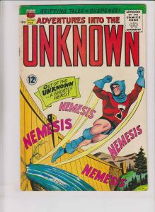 Adventures Into The Unknown #154 FN silver age - 1ST APPEARANCE NEMESIS 1965 ACG