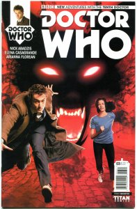 DOCTOR WHO #3, VF/NM, 10th, Tardis, 2014, Titan, 1st, more DW in store, Sci-fi P