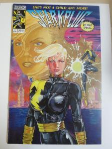 Sparkplug (Heroic 1993) #1 Lightning Superheroine Signed by J. David Spurlock