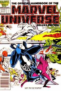 Official Handbook of the Marvel Universe (1985 series) #12, Fine- (Stock photo)