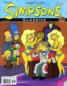 Simpsons Classics #28 VF/NM; Bongo | save on shipping - details inside