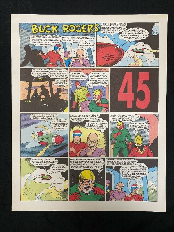 Buck Rogers  #45- Reprints the Sunday pages #529-540