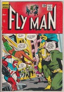 Fly Man #31 (May-65) FN/VF Mid-High-Grade The Fly, Fly-Girl