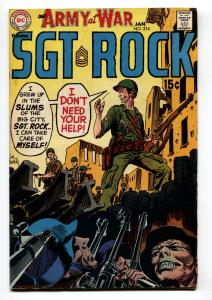 OUR ARMY AT WAR #214-SGT. ROCK-COOL ISSUE FN