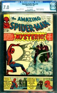 Amazing Spider-Man #13 CGC 7.0 1st Mysterio (Appearance & Origin)