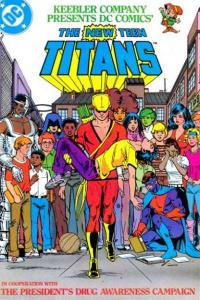 New Teen Titans (1983 series) President's Drug Awareness Campaign #1, VF...