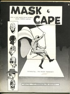 Mask & Cape #4 1964-Black Phantom-superheroes-Steve Perrin-final issue-FN