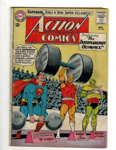 Action Comics # 304 FN- DC Comic Book Superman Batman Green Lantern Flash KD1