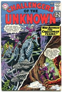 CHALLENGERS OF THE UNKNOWN #29 1963-DC COMICS SCI-FI VG
