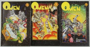 Omen #1-3 FN/VF complete series - tim vigil - northstar comics set - david quinn