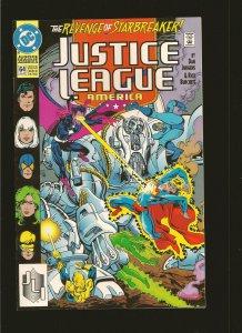 DC Comics Justice League America #64 (1992)