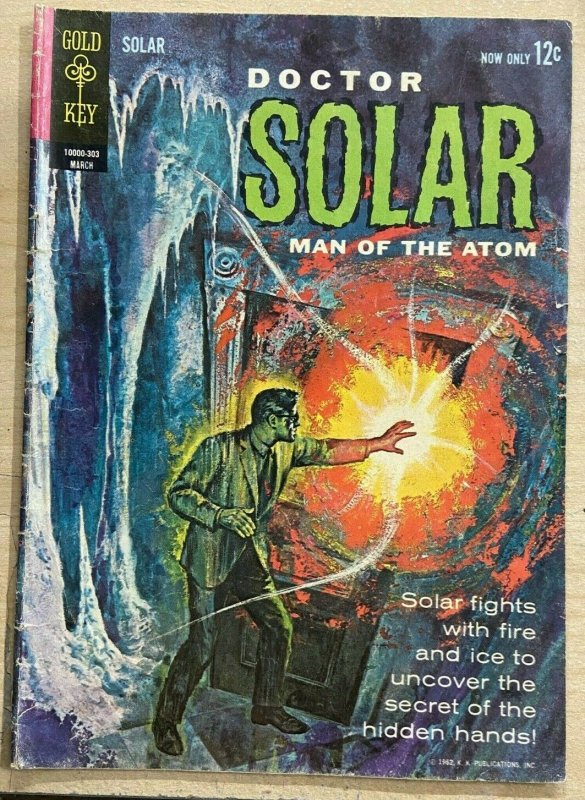 DOCTOR SOLAR, MAN OF THE ATOM #3 (Gold Key,3/1963) VERY GOOD MINUS (VG-)