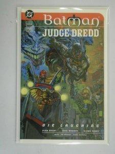 Batman Judge Dredd Die Laughing #1 7.5 VF- (1998)