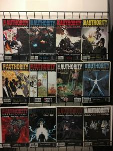 AUTHORITY REVOLUTION (2004 WS) 1-12 the COMPLETE series