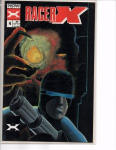 NOW Comics (1988 - Vol. 1) Racer X #4 1st Series