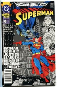 Superman Annual #3 1991- DC comic book NM-