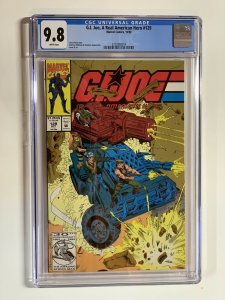 G.i. Joe A Real American Hero 129 Cgc 9.8 Wp Marvel