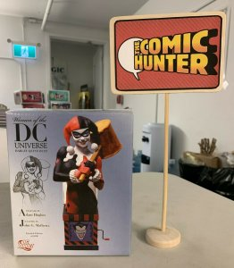 Women of The DC Universe Harley Quinn Bust Adam Hughes Limited Edition