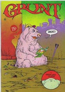 Grunt Comics #2 ORIGINAL Vintage 1973 Grunt Records