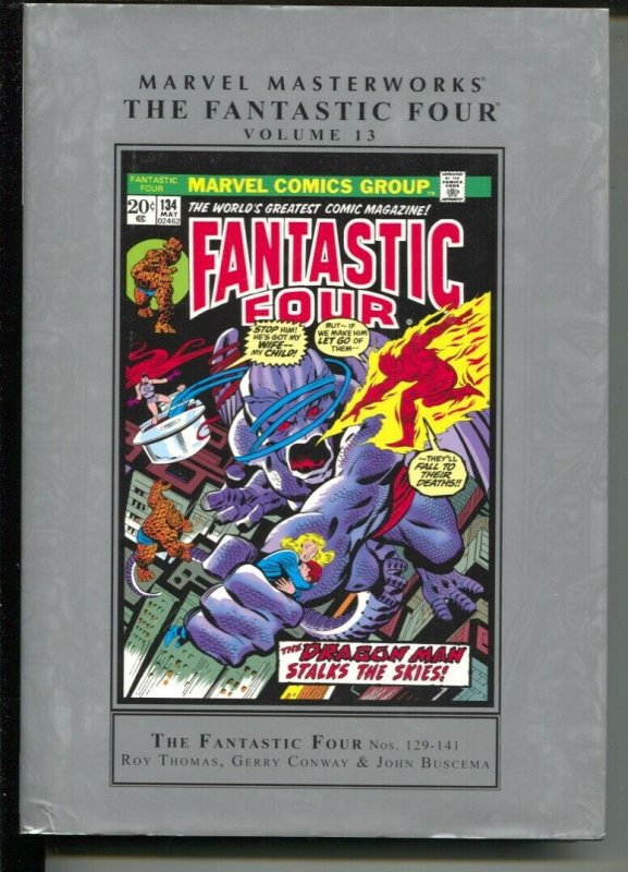 Marvel Masterworks The Fantastic Four-Vol 13-Roy Thomas-2011-HC-VG/FN