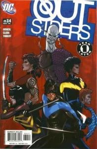 Outsiders (2003 series) #34, NM- (Stock photo)
