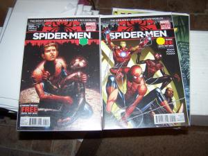 spider-men # 4,5  miles morales peter parker mini series