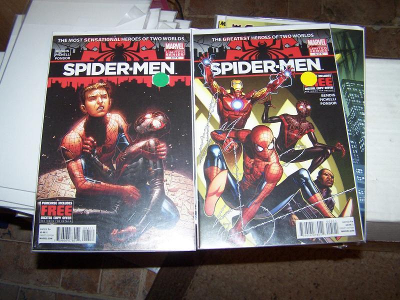 spider-men # 4,5  miles morales peter parker mini series